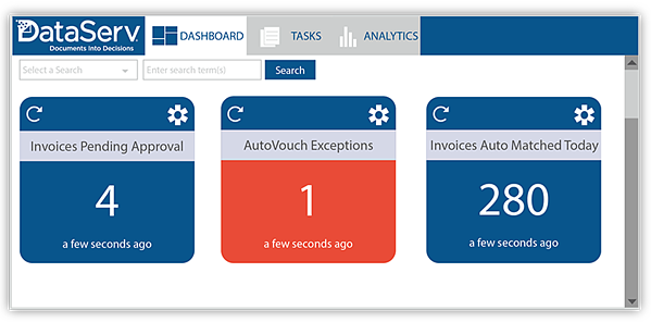 Exceptions Dashboard