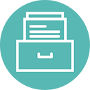Archival Retention Icon