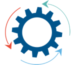Centralized Processing Icon