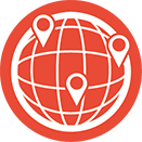 Global Footprint Icon