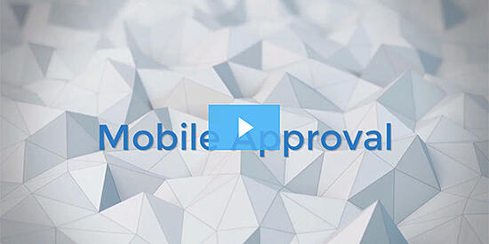 Mobile Approval Video Screen Shot-with play button