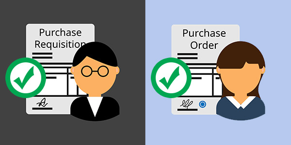 Purchase requisitions and Purchase Orders