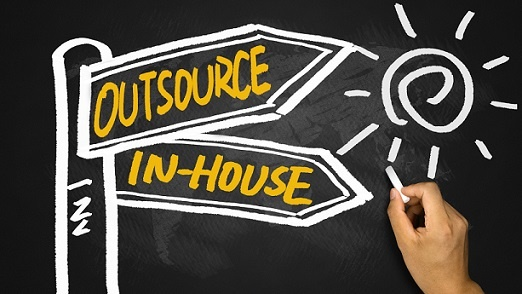 Outsource or In-house illustration