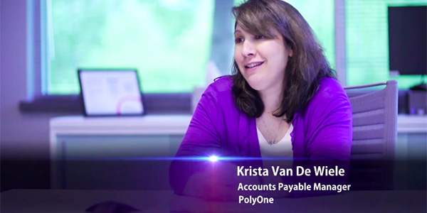 PolyOne Testimonial Video-Streamlining AP